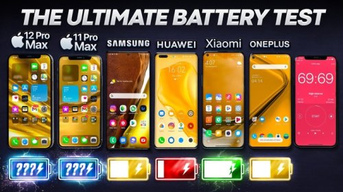 Battery Test: iPhone 12 Pro Max vs Samsung Galaxy Note 20 Ultra and more (Video) - Geeky Gadgets