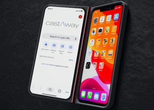 Add a second screen to your smartphone with castAway - Geeky Gadgets