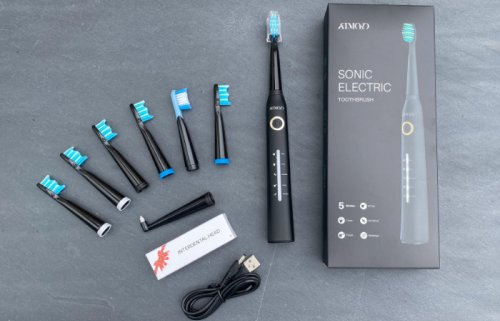 Atmoko electric toothbrush cleans, whitens, massages your gums and more
