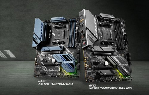 MAG X570S motherboards with military inspired designs