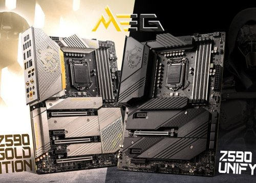 MSI MEG Z590 ACE Gold Edition and Z590 Unify Series motherboards - Geeky Gadgets