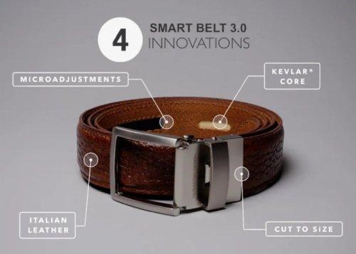 Kevlar core reinforced belt never looses its shape - Geeky Gadgets