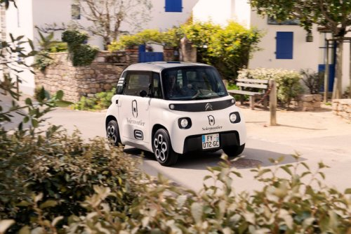 Tiny Citroen My Ami Cargo EV has 260 liters of storage space - Geeky Gadgets