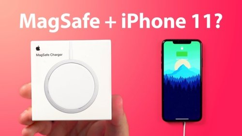 New Apple MagSafe Charger for iPhone 12 shown off on video - Geeky Gadgets