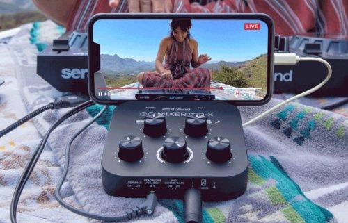 Roland Go Mixer Pro-X DJ audio mixer board