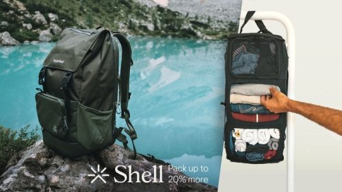 Shell travel backpack raises over $770,000 on Kickstarter - Geeky Gadgets