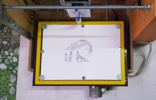 Arduino Shield used for awesome CNC plotter