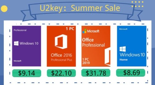Summer Sales Windows 10 Pro with $9.14 and Office 2016 Pro with $22.10 - Geeky Gadgets