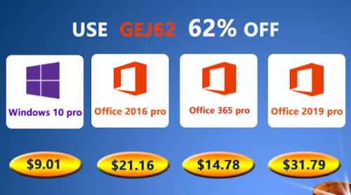 Cheap software: Windows 10 Pro key @$9.01, and Office 2019 Pro @ $31.79 - Geeky Gadgets