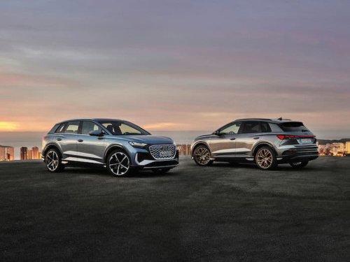 Audi Q4 e-tron and the Q4 Sportback e-tron EVs unveiled - Geeky Gadgets