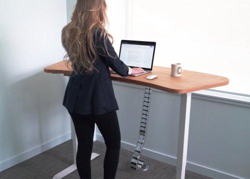Ergonomyx sit or standing desk hits Kickstarter - Geeky Gadgets