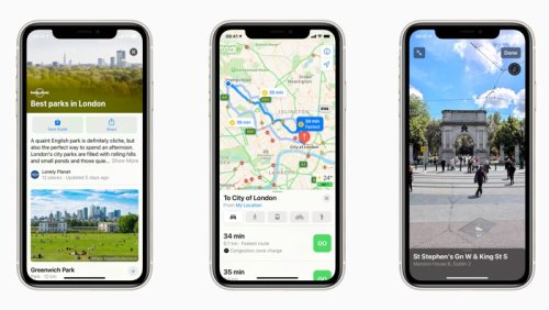 New Apple Maps lands in the UK and Ireland - Geeky Gadgets