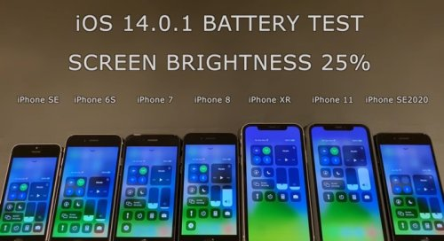 iOS 14.0.1 battery life test (Video) - Geeky Gadgets