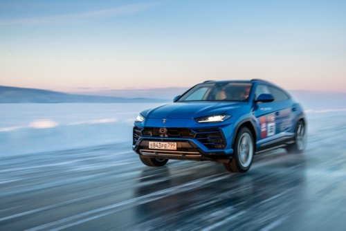 Lamborghini Urus sets new high speed record on ice (Video) - Geeky Gadgets