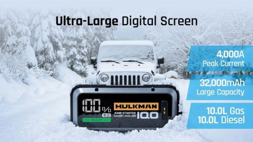 HULKMAN vehicle smart jumper starter raises over $300,000 via Kickstarter - Geeky Gadgets