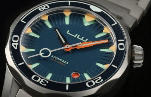 AEQUOREA diver watch inspired by jellyfish