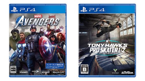 This Week's Japanese Game Releases: Marvel's Avengers, Tony Hawk's Pro Skater 1 + 2, more - Gematsu