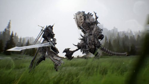 Project M prototype gameplay – dark fantasy action RPG by Korean studio HOUND13