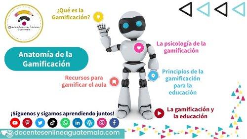 Anatomía de la Gamificación by Docentes en línea Guatemala on Genially