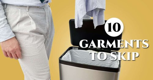 10 Things You Don't Need In Your Closet (Menswear To Skip!)