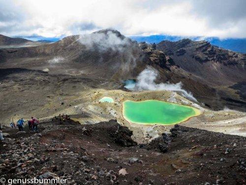 Tongariro Alpine Crossing Neuseeland - ein Erfahrungsbericht