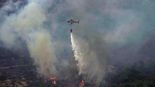 Paradies in Flammen: Schwere Waldbrände auf Sardinien
