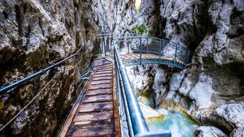 Höllentalklamm: Durch die wilde Schlucht am Fuß der Zugspitze