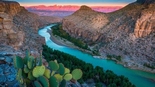 Wo der Rio Grande seine schönste Biegung macht