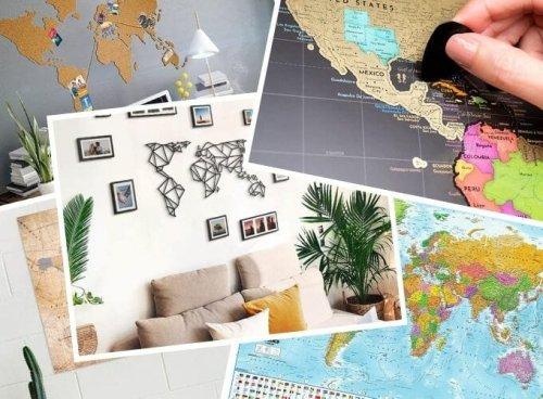 Weltkarten verschenken – 9 Geschenk Ideen für Vielreisende