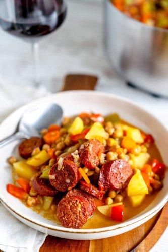 Chorizo-Kichererbsen-Eintopf [enthält Werbung]
