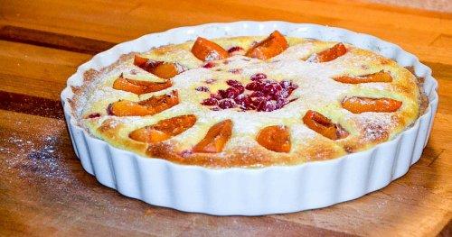 Marillen-Ribisel-Kuchen