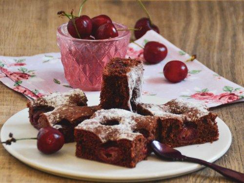 Schokolade Kirschkuchen