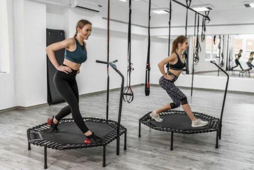 Der Sport gegen Winterspeck: Jumping Fitness