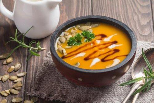 Kürbissuppe: Hält warm an kalten Tagen