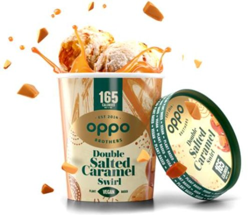 Eiscreme von Oppo Brothers: Voller Genuss, halb so viele Kalorien