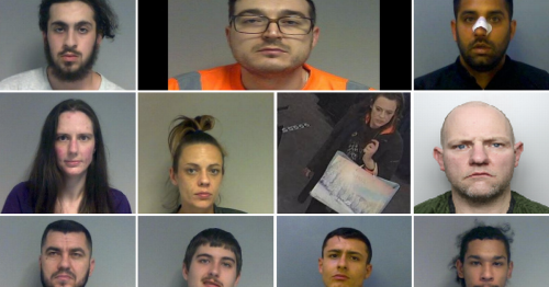 All the criminals jailed in Berkshire in February