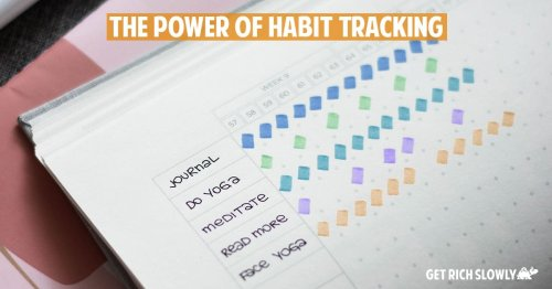 The power of habit tracking