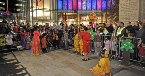 Woking's spectacular Diwali parade won't be going ahead this year