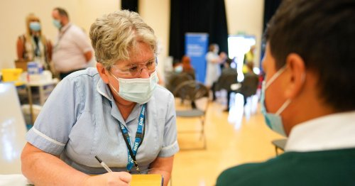 NHS opens online Covid vaccination bookings for 12 to 15-year-olds