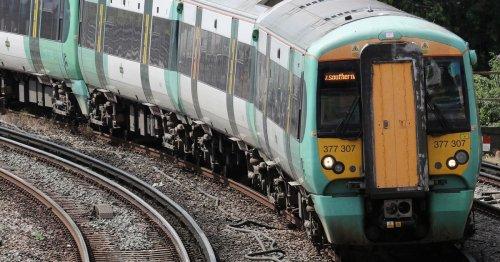 Trespasser on line causing disruption to Surrey trains