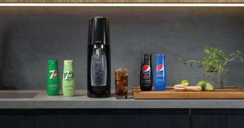 You can now make your own Pepsi, Pepsi Max and 7Up at home