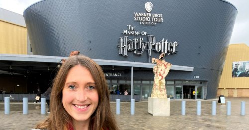 Price of Chocolate Frog at Harry Potter Studio Tour made me gasp