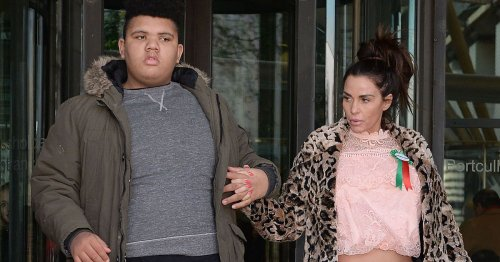 Katie Price shares Harvey's heartbreaking reaction to hearing Peter Andre's name