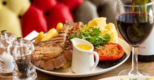 The Surrey pub with mega T-bone steak on the menu