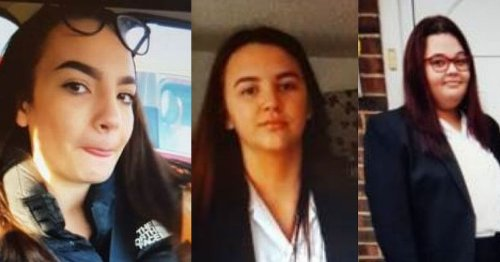 Police 'increasingly concerned' for three missing Surrey girls