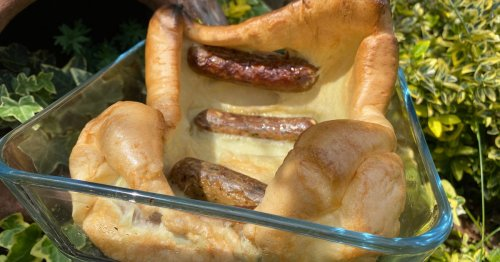 Foolproof toad in the hole recipe for gigantic Yorkshire pudding