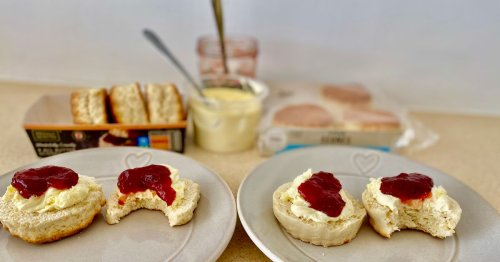 We compared scones from Aldi and M&S and the results surprised us