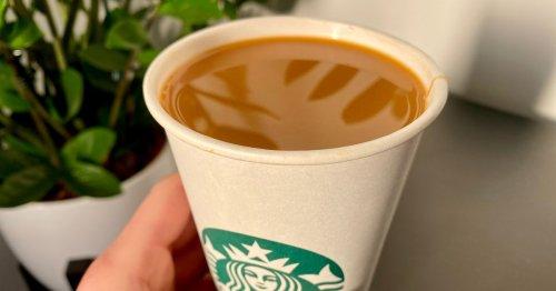 Starbucks Pumpkin Spice Latte looked 'like a cup of tea'