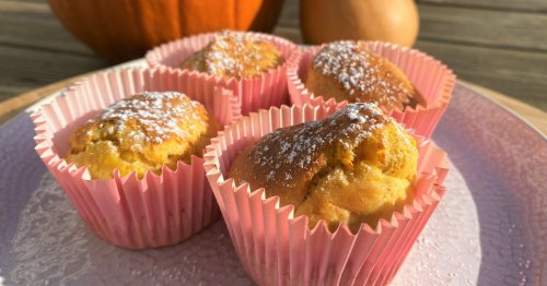 Simple pumpkin muffin recipe that's ready in just 15 minutes