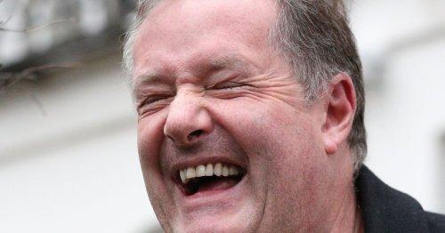 Piers Morgan bumps into rival Dan Walker at Wentworth golf club